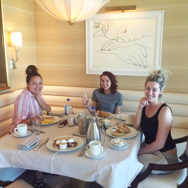 breakfast at the wynn