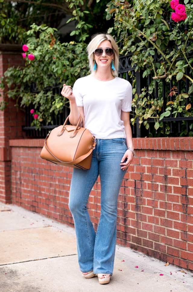frame flare jeans