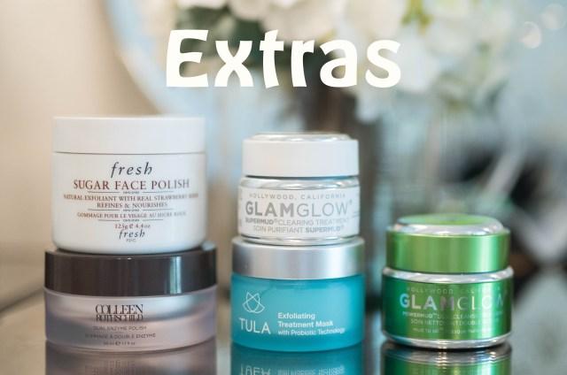 skin care extras