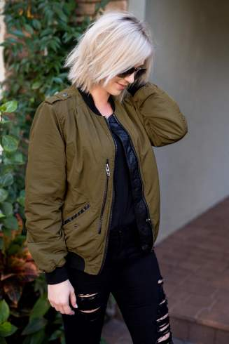 Cyber Monday Sales & My Go-To Bomber Jacket