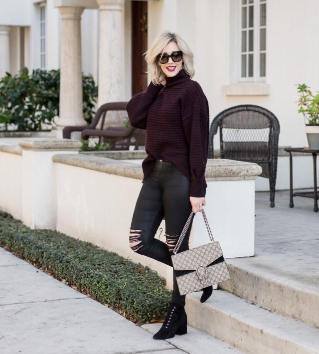 topshop Oversize Cocoon Sweater