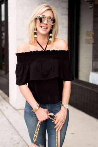 My Favorite Jeans on Sale & Tassel Earrings