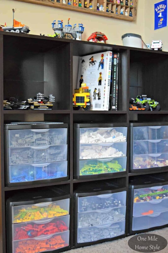 ... Lego Storage Ideas | AWESOME Lego storage ideas to keep your kids sets minifigs and & Lego Storage Ideas to Help You Organize All Your Pieces Sets and ...