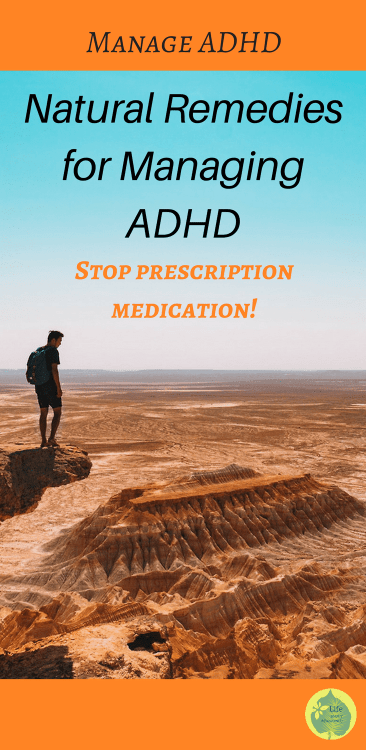 Manage ADHD without medication