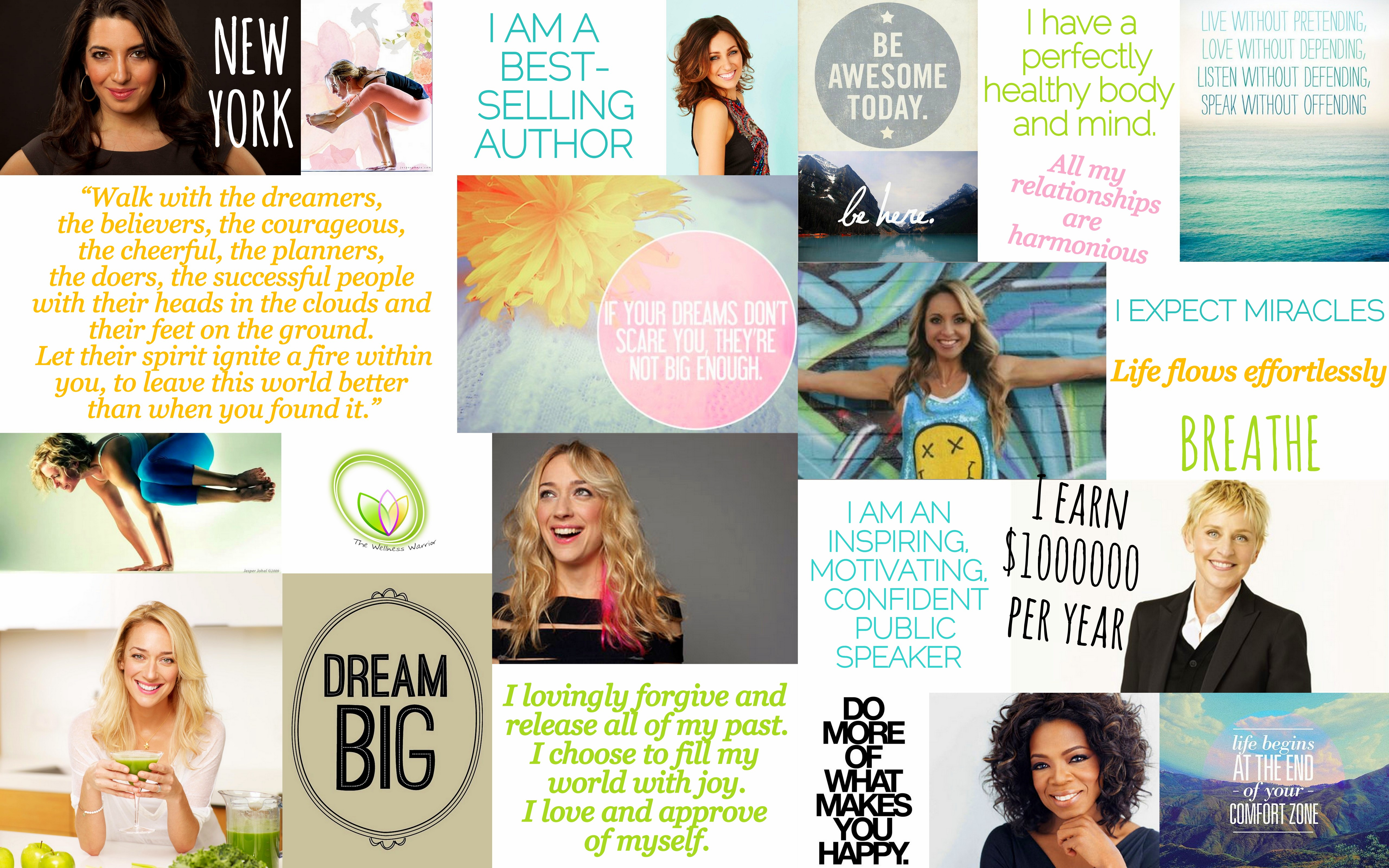 How To Use Your Vision Board