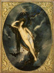 Nyx,_Night_Goddess_by_Gustave_Moreau_(1880)