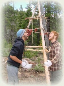 Teen 28 day wilderness immersion camp - CA