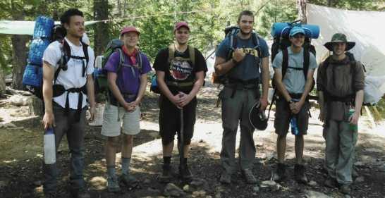 Teen Summer Wilderness Adventure Camp CA – 16 to 17