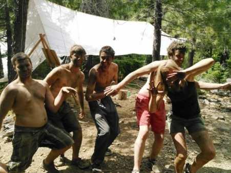 Teen apprentice 28 day wilderness survival training CA