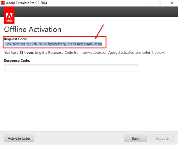 Request Code - Adobe   Lifestan