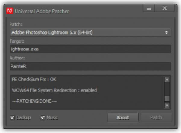 Crake Adobe Photoshop lightroom 6 patch - Lifestan