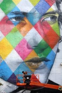 Bob Dylan Mural 5