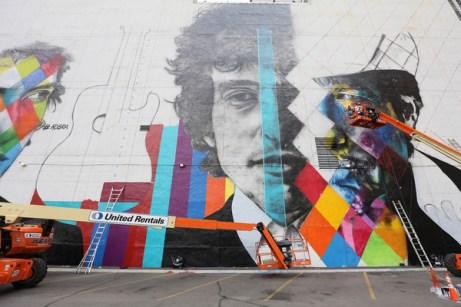 Bob Dylan Mural 9