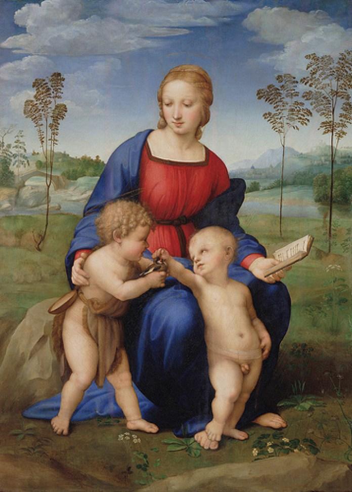 Raffaello Sanzio - Madonna del Cardellino