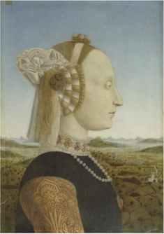Piero della Francesca, Ritratto di Battista Sforza