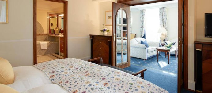 SUIT - Grand Hotel Kronenhof di Pontresina