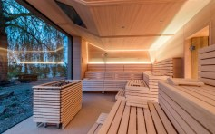 Liberty Spa Sauna panoramica a - Parkhotel Holzner