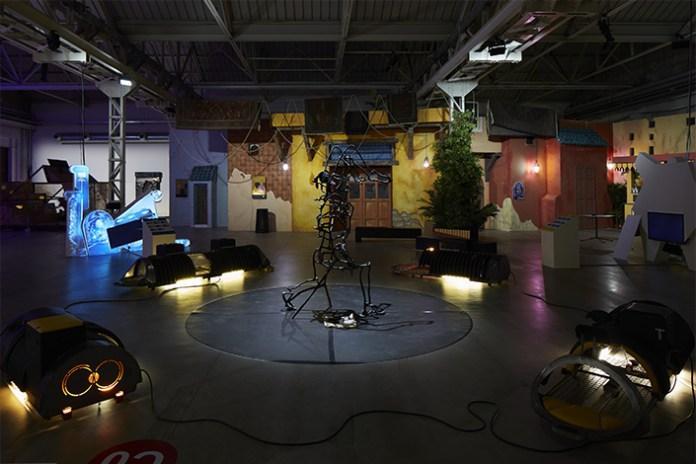 Neïl Beloufa mostra HangarBIcocca Milano