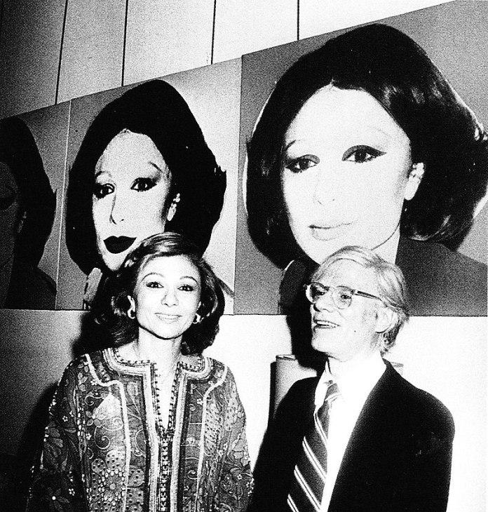 Andy Warhol Farah Phalavi