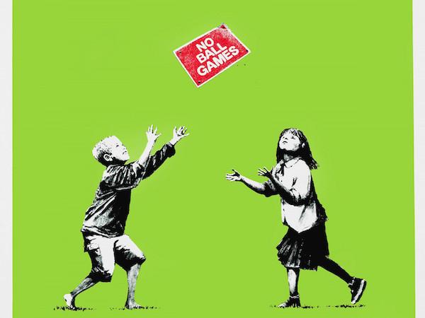 Banksy chiostro bramante