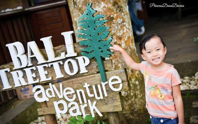 Bali for Kids: Bali Treetop Adventure Park