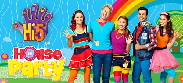 {Giveaway} Hi-5 House Party Concert Tickets!