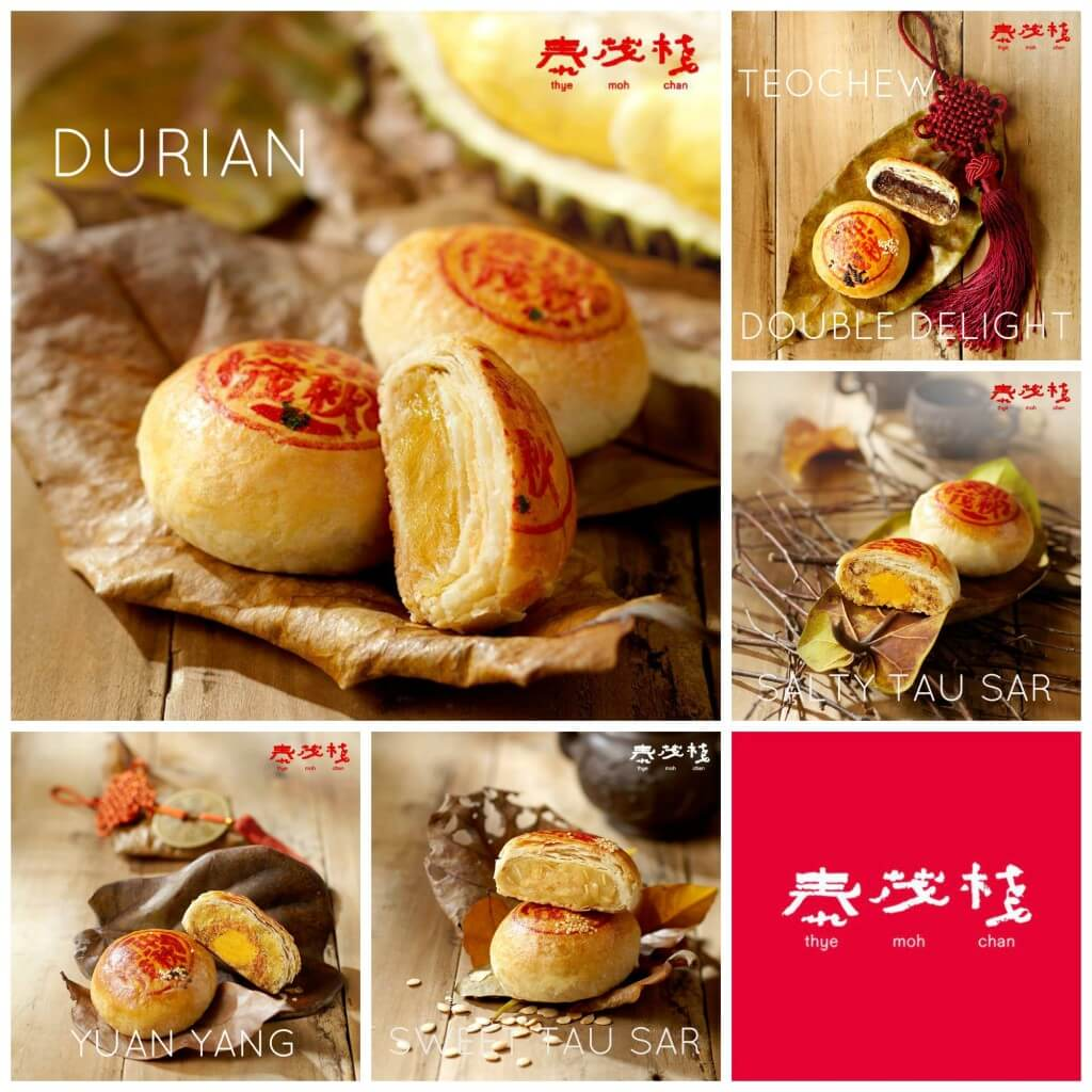 THYEMOHCHAN MOONCAKES Collage