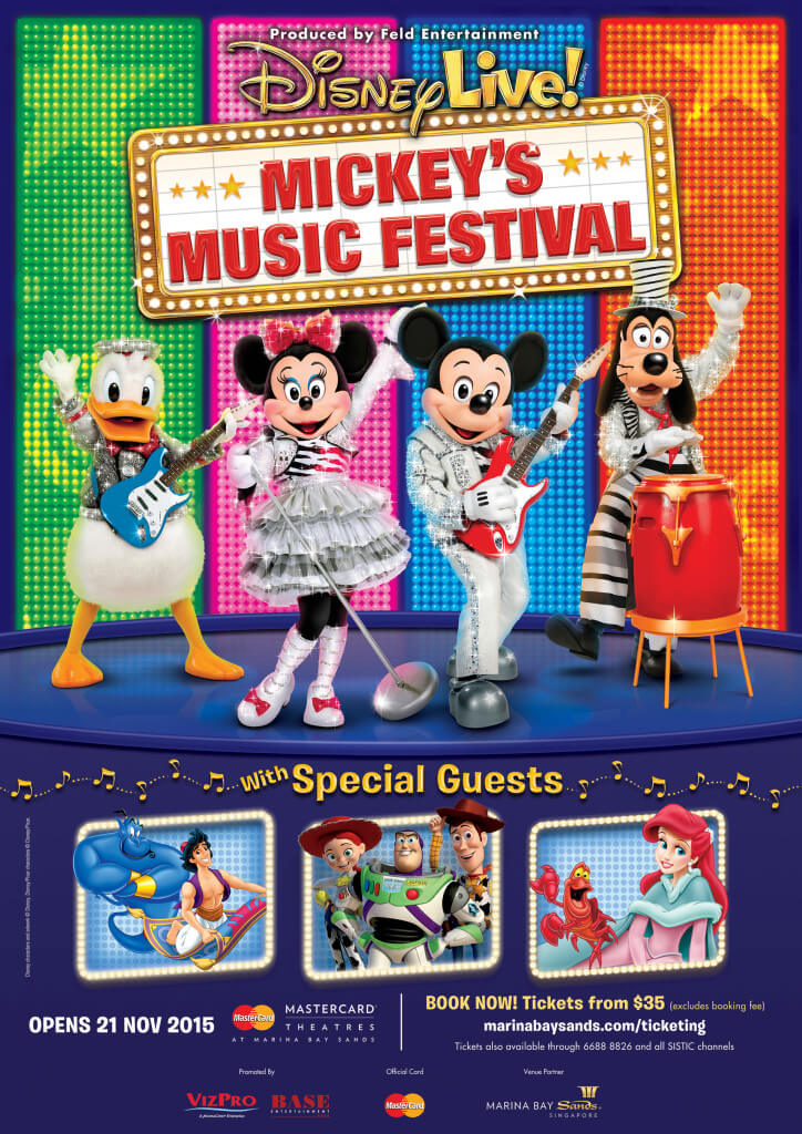 Disney Live! Mickey's Music Festival Keyart (For Online Usage Only)