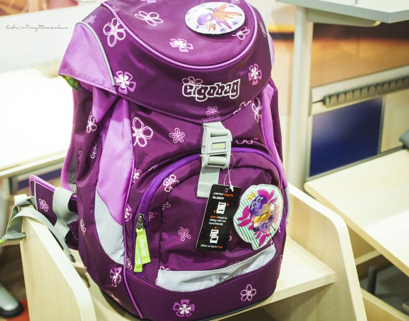 The Ergobag Schoolbag Ready Steady Go Life S Tiny Miracles