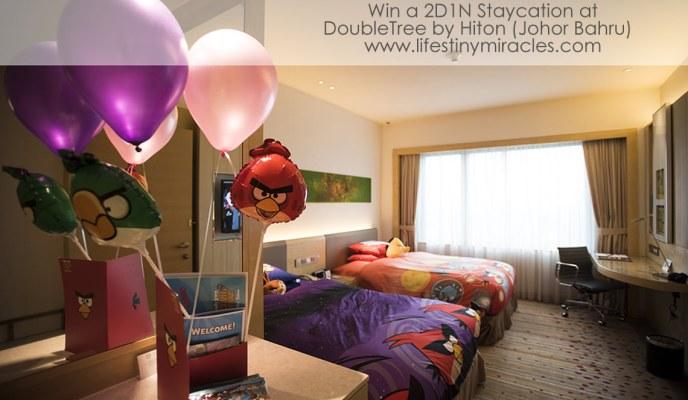 Staycation at DoubleTree by Hilton (Johor Bahru)