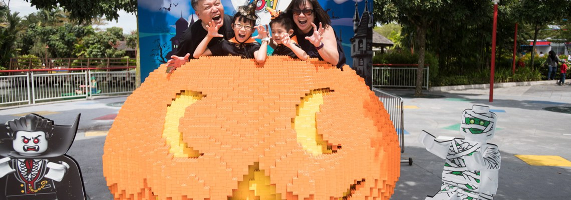 Legoland Malaysia Halloween Brick-or-Treat 2017