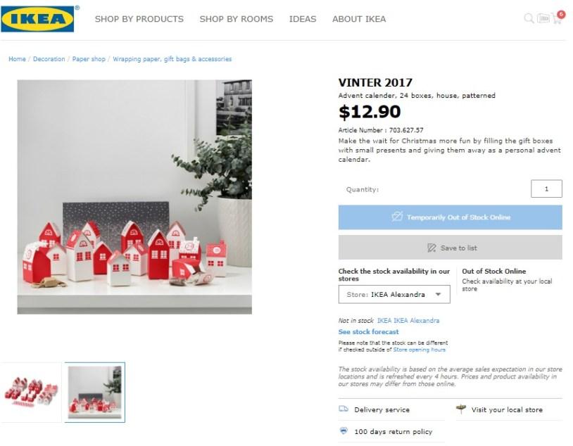 Ikea Advent Calendar