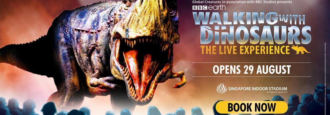 Walking with Dinosaur – The Live Experience. A Review.