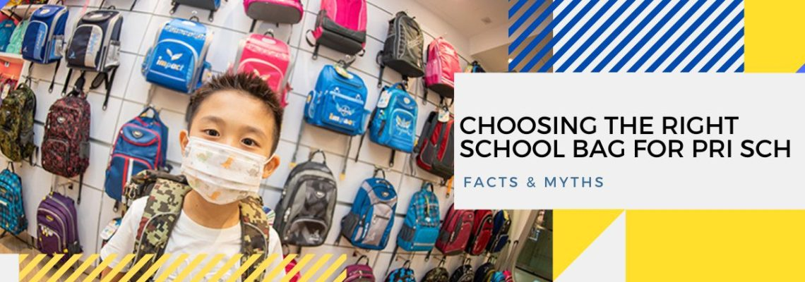 Choosing The Right School Bag For Primary School: Facts & Myths
