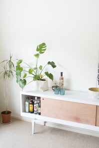 Bar Sideboard Makeover