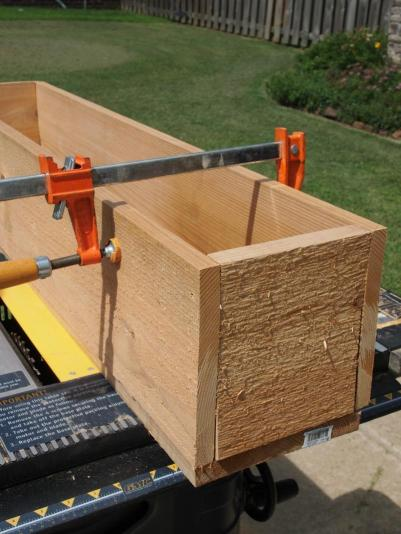 Cedar Window Box Planter DIY Tutorial