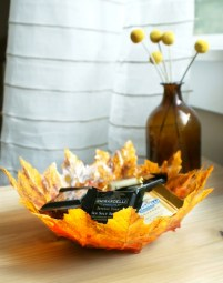 Autumn Leaf Bowl DIY Project