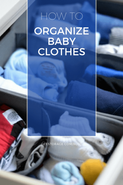 how to organize baby clothes pin life storage blog