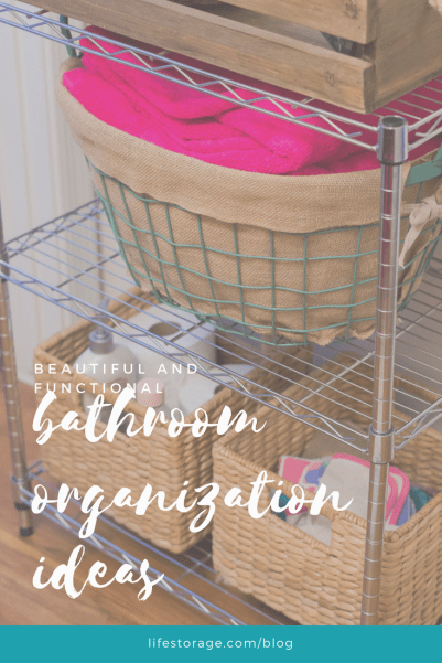 Bathroom Organization Ideas: inspiration and before and after photos