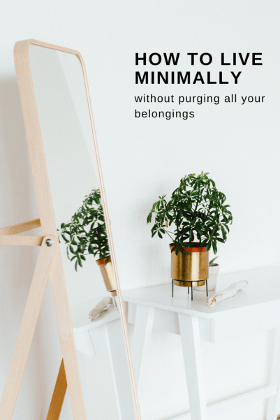 How to live minimally simple tips for the uncommitted for Minimalist living blog