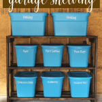 How To Build Diy Garage Storage Shelves For Under 60