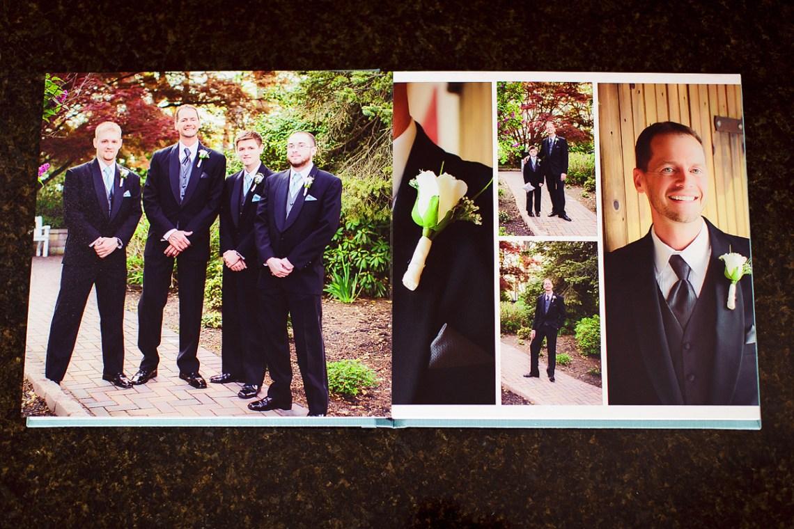 Berks County PA Wedding Photo Custom Album