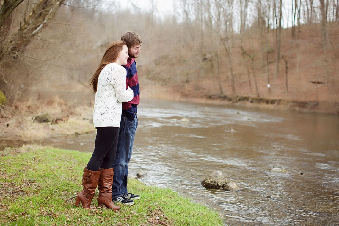 Engagement Pictures at Stilling Basin Bernville PA