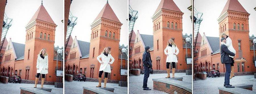 Downtown Lancaster Market engagement photos