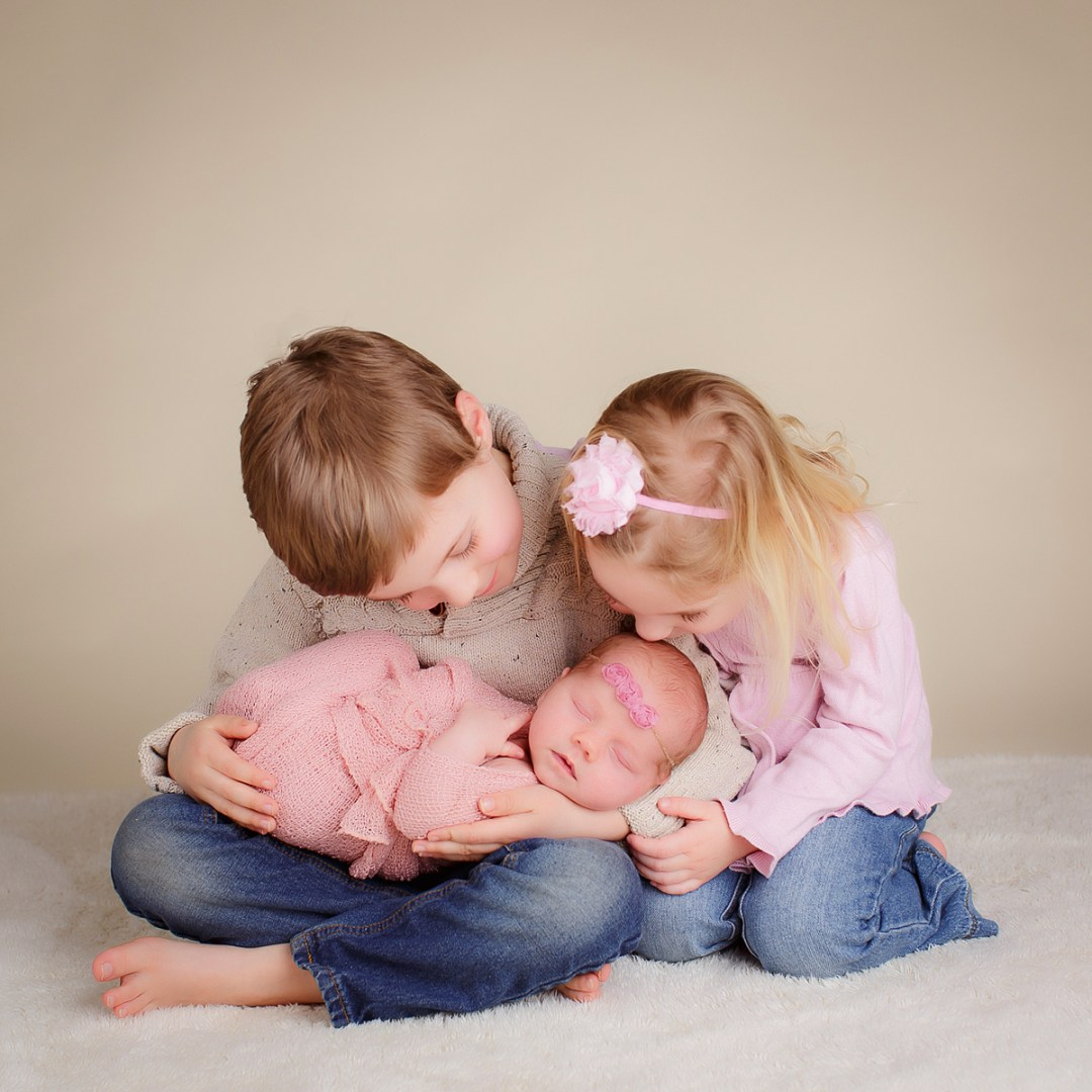 Newborn with two Siblings