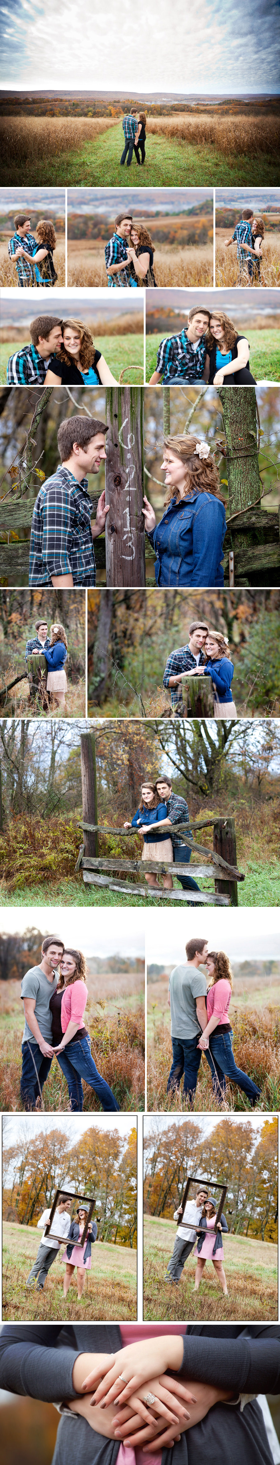 Engagement Photography Session with magnificent views