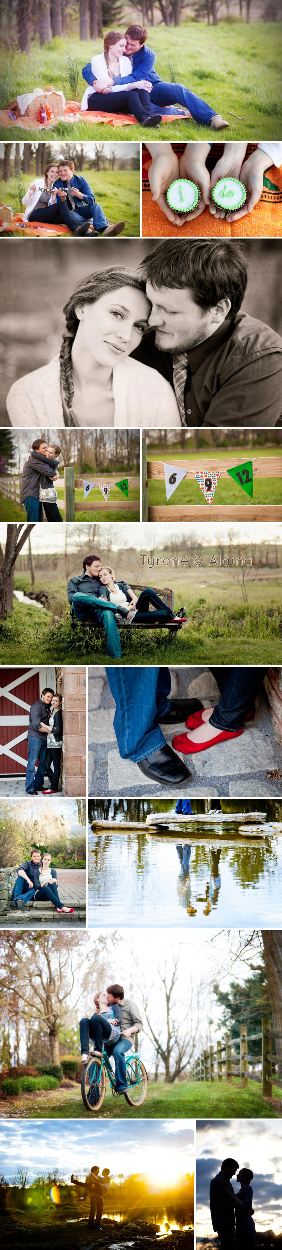Lebanon, PA engagement photography session