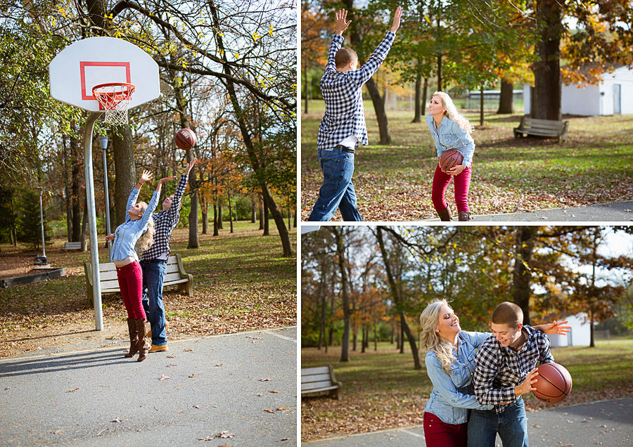 023Basketball Engagement Photos Reading PA