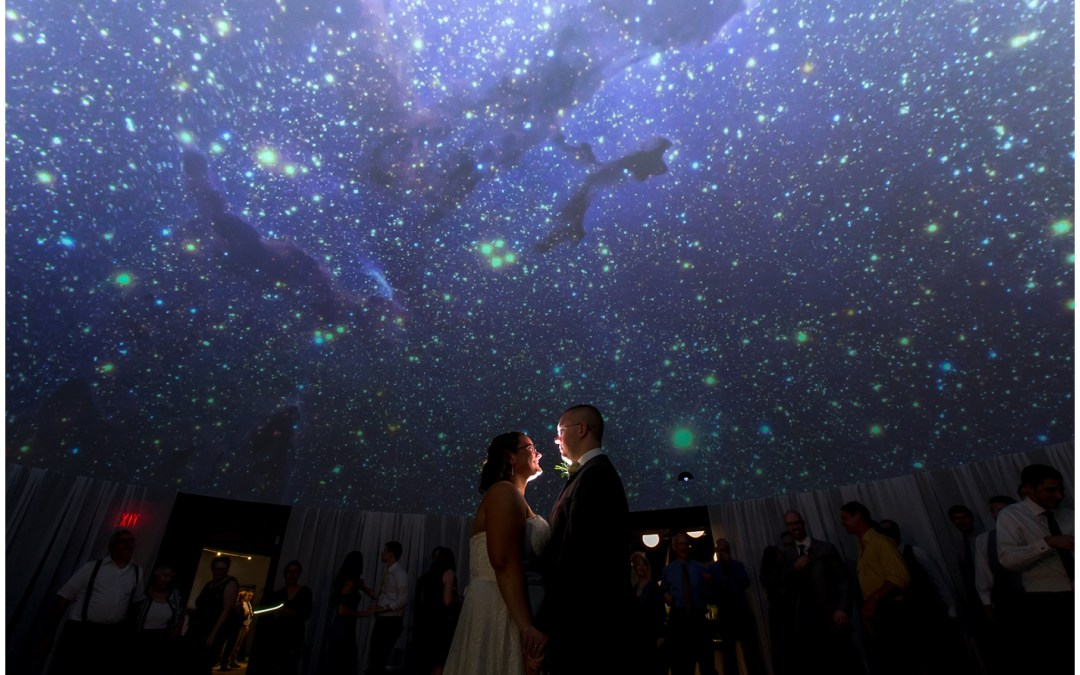 WEDDING VENUE IN READING, PA | THE NEAG PLANETARIUM | CAROL+ BLAKE