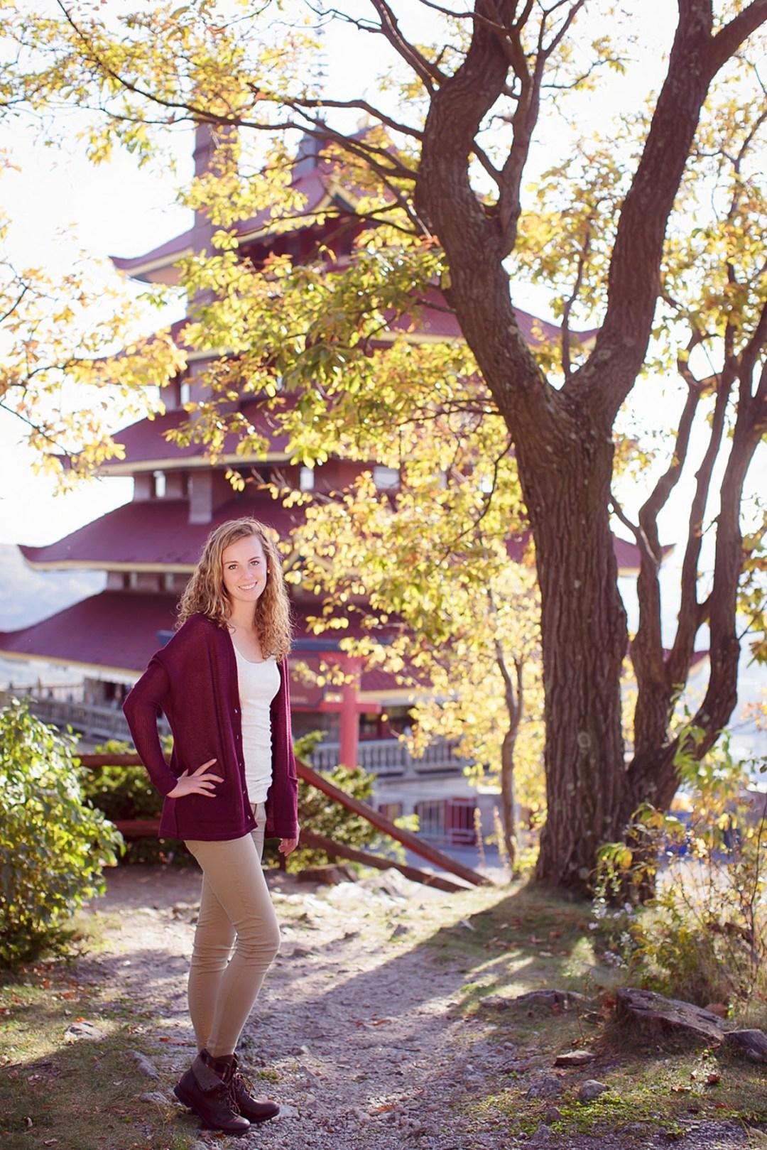 Reading PA Pagoda Senior Photos